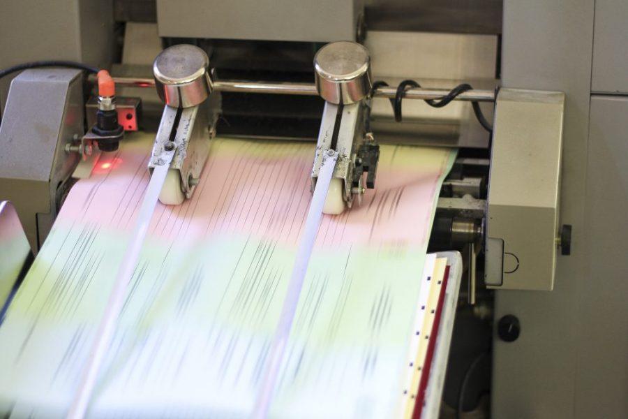 Zusammentragmaschine Endlosformulare SD-Sätze Durchschreibesätze
