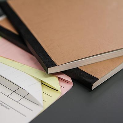 Auftragsbuch Offsetdruck fälzeln Durchschreibesatz SD-Satz Endlosformular