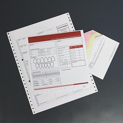 Endlosformular SD-Satz Schnelltrennsatz OCR Papier Durchschreibesatz Endlosvordruck
